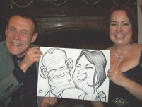 A Chester Wedding Caricature Artist